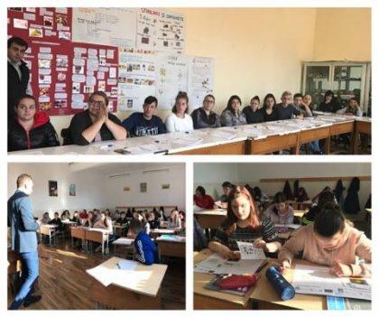 Activități de informare și prevenție a BOLILOR INFECȚIOASE desfășurate de ASOCIAȚIA SANLIFE pentru ELEVII LICEELOR din Județul Arad (GALERIE FOTO)
