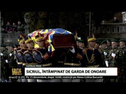 VIDEO/ Majestatea Sa Regele Mihai I s-a întors ACASĂ! Trei zile de DOLIU NAŢIONAL