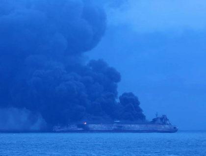 RISC de DEZASTRU ECOLOGIC în urma unui ACCIDENT NAVAL cu un TANC PETROLIER! Peste 30 de membri ai echipajului, DAȚI DISPĂRUȚI