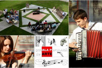 An plin pentru Şcoala Populară de Arte Arad
