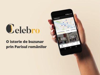 Aplicația CelebRo, o istorie de buzunar prin Parisul românilor