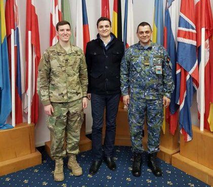Deputatul Sergiu Vlad a vizitat baza NATO de la Mihail Kogălniceanu