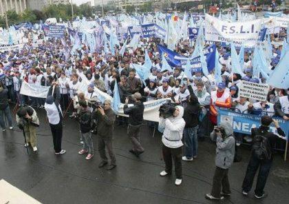 Sindicaliștii din învățământ amenință cu greva generală