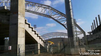 VIDEO/ Mai e MULT până departe… Stadiul lucrărilor la stadionul Francisc Neuman