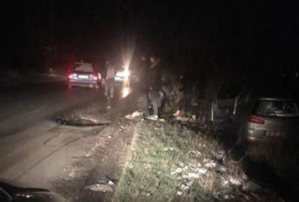 Gropile de pe drumurile judeţene FAC VICTIME! ACCIDENT, pe Arad – Curtici