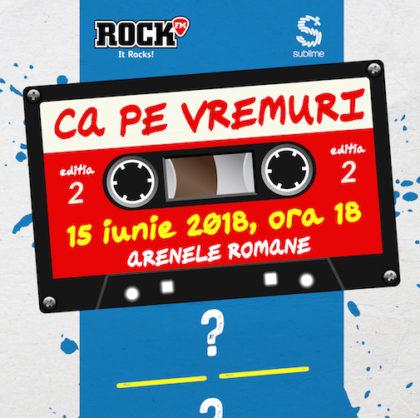 """O nouă pagină de istorie ROCK! Iubitorii de muzică bună sunt invitați la un concert """"Ca pe vremuri"""". Cine va urca pe scenă"""
