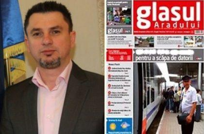 """Preşedintele Organizaţiei Municipale a ALDE Arad a condus prima şedinţă de redacţie la """"Glasul Aradului"""""""