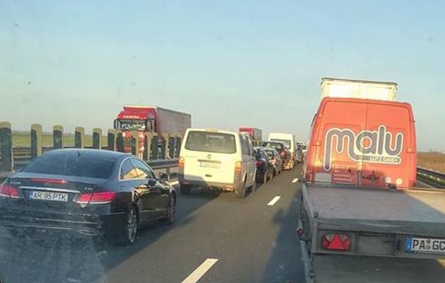 RESTRICȚII de circulație pe AUTOSTRADA A1, între Nădlac și Arad