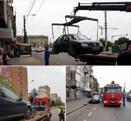 ATENŢIE! A început RIDICAREA MAŞINILOR în Arad! Ce se ascunde în spatele acţiunii autorităţilor