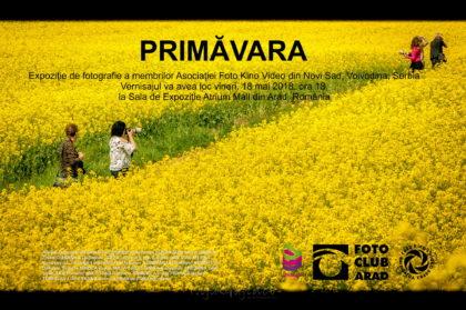 """""""Primăvara"""" transpusă în imagini, în cadrul unui vernisaj de fotografie organizat la Atrium Mall"""