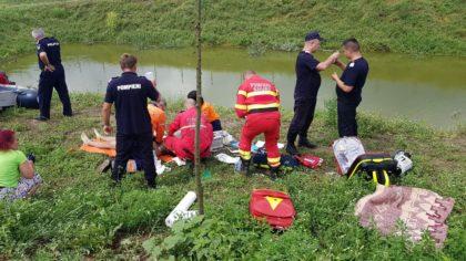 UPDATE/ Tragedie într-o localitate arădeană: Un adolescent s-a înecat într-o baltă de pescuit