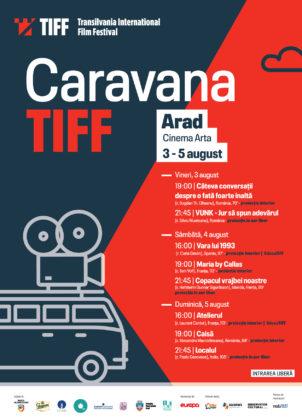 Caravana TIFF vine la Arad cu 8 filme de EXCEPȚIE
