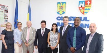"""Parteneriat între Universitatea de Vest """"Vasile Goldiș"""" și Universitatea Rutgers din New Jersey"""