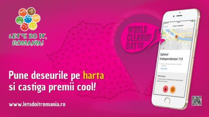 Let's Do It, Romania! Cei mai implicați voluntari pot câștiga premii în valoare totală de peste 17 000 de lei! Ce trebuie să faci