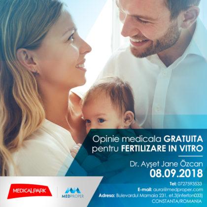Un REPUTAT DOCTOR vine în România pentru a oferi o OPINIE MEDICALĂ GRATUITĂ cuplurilor infertile. Ce trebuie să știi despre Fertilizarea In Vitro