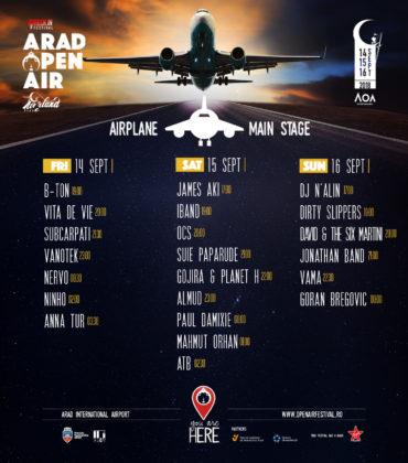 Mai e puțin până când ne întâlnim cu ATB, Goran Bregović și mulți, mulți alții la Arad Open Air Festival! Programul complet