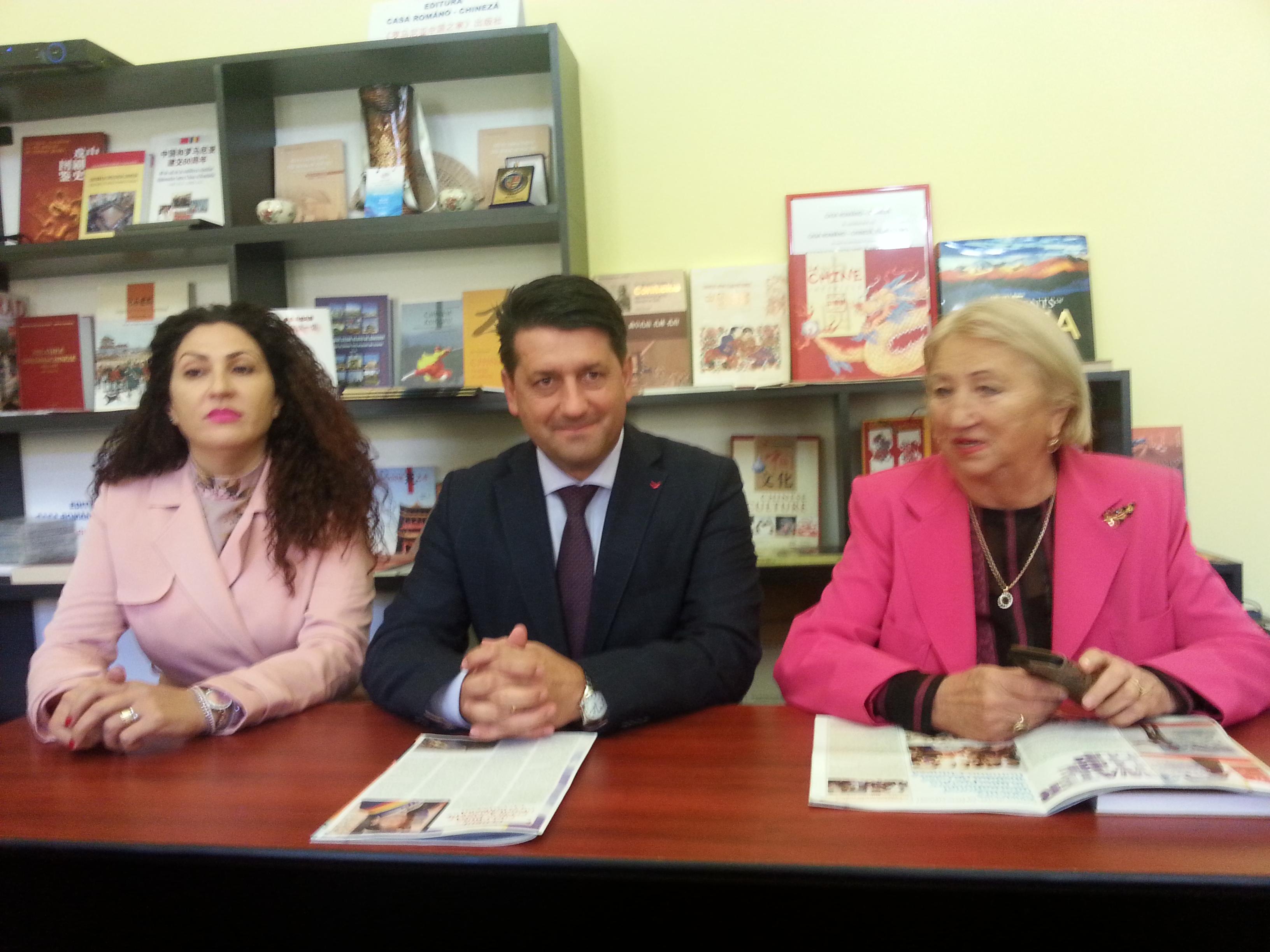 Pecica va colabora cu Shanghai pe linie economică, datorită Clubului Pro-China, primul de acest fel din România