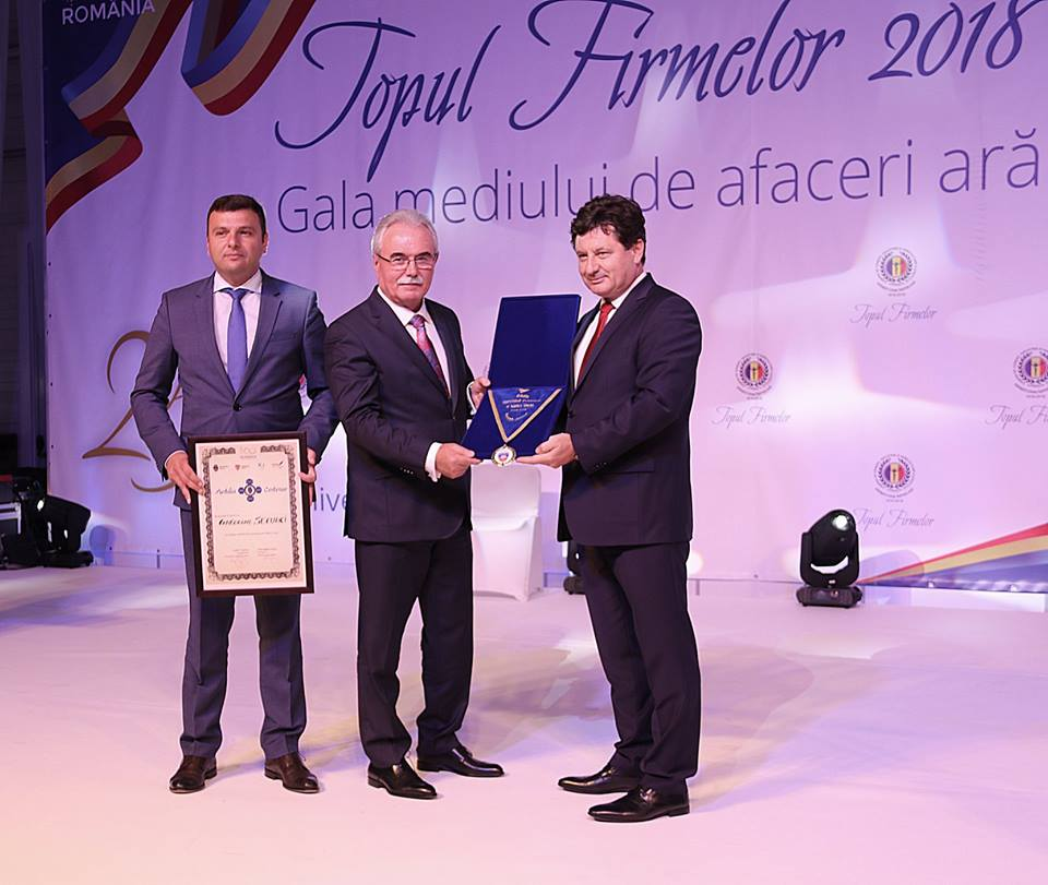 Președintele Camerei de Comerț Arad a primit cea mai înaltă distincție acordată cu ocazia Centenarului.