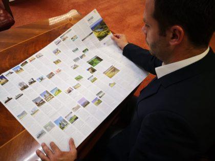 Consiliul Județean Arad a tipărit harta turistică a județului și a municipiului