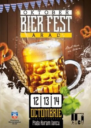 Oktober BierFest, în acest weekend, la Arad! Cine va urca pe scenă și ce SURPRIZE îi așteaptă pe arădeni