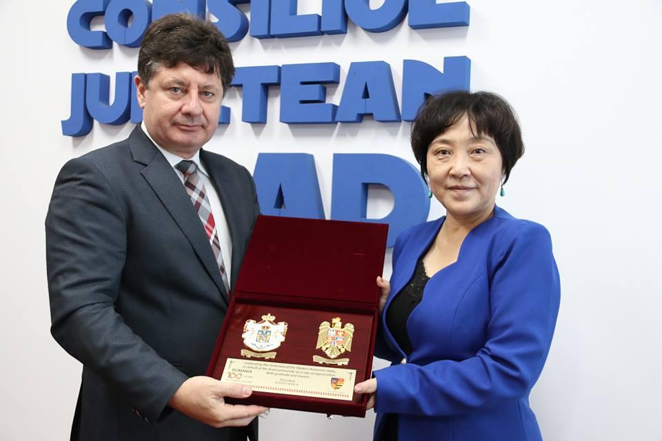 Delegația Ambasadei Republicii Populare Chineze a vizitat Consiliul Județean Arad