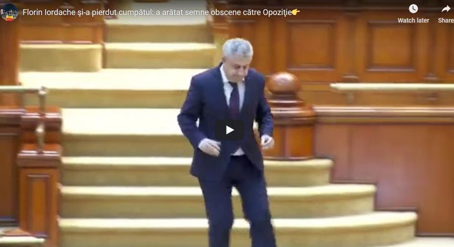 PENIBIL: Un parlamentar al PSD le-a arătat degetele mijlocii colegilor săi din Opoziţie (VIDEO)