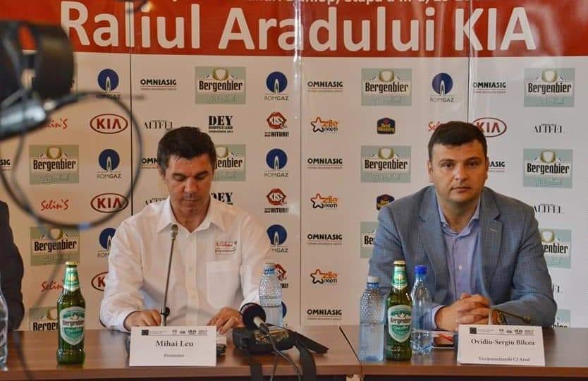 Aradul a primit premiul pentru Raliul Anului