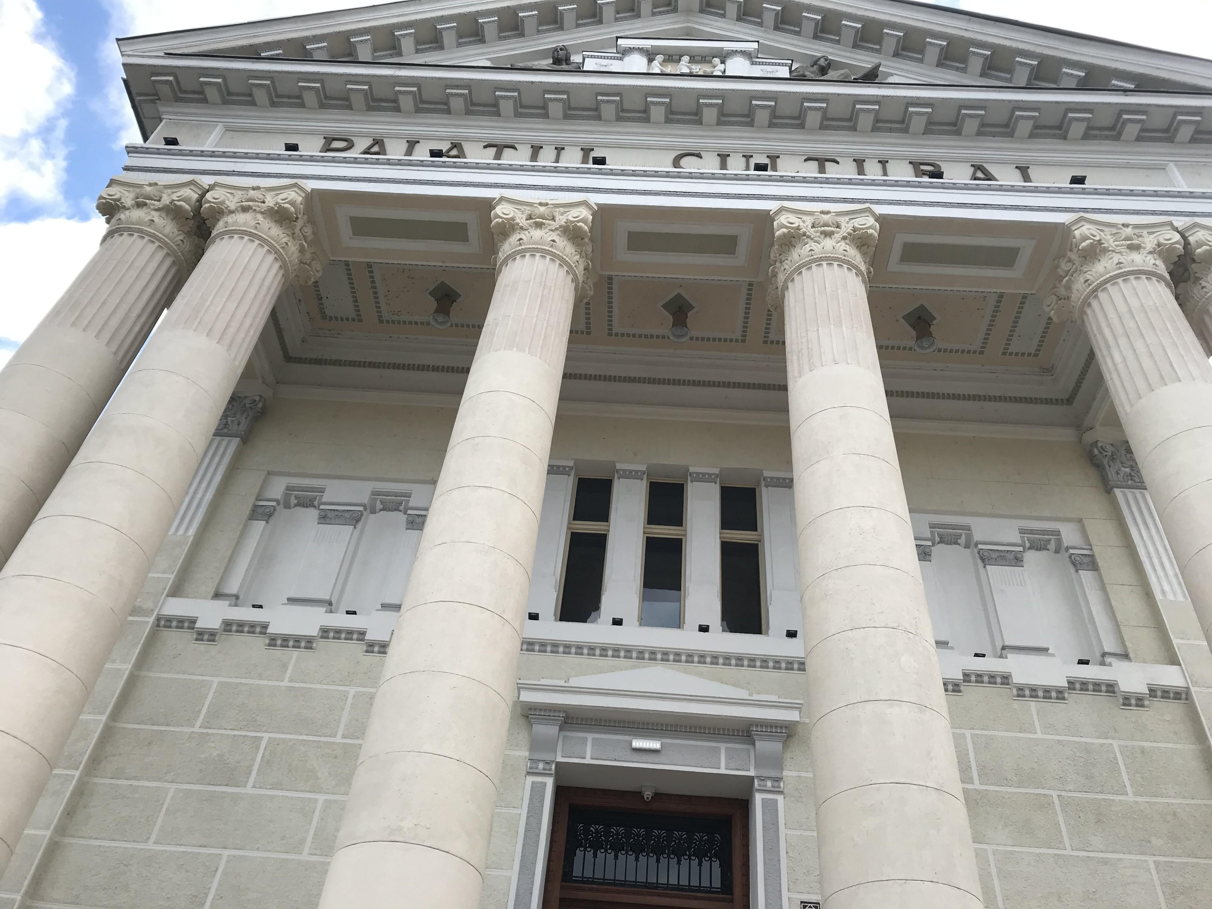 Palatul Cultural – o bijuterie arhitecturală, recent restaurată