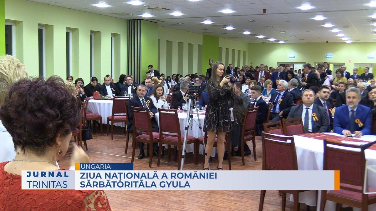 Ziua naţională a României în Anul Centenar, la Gyula, în Ungaria (GALERIE FOTO + VIDEO)