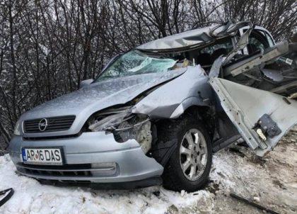 IPJ: Cum s-a petrecut ACCIDENTUL MORTAL de pe drumul Arad – Curtici (FOTO)