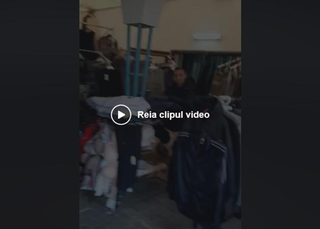 Atenţie, PERICOL de MOARTE în Piaţa Mică (VIDEO)