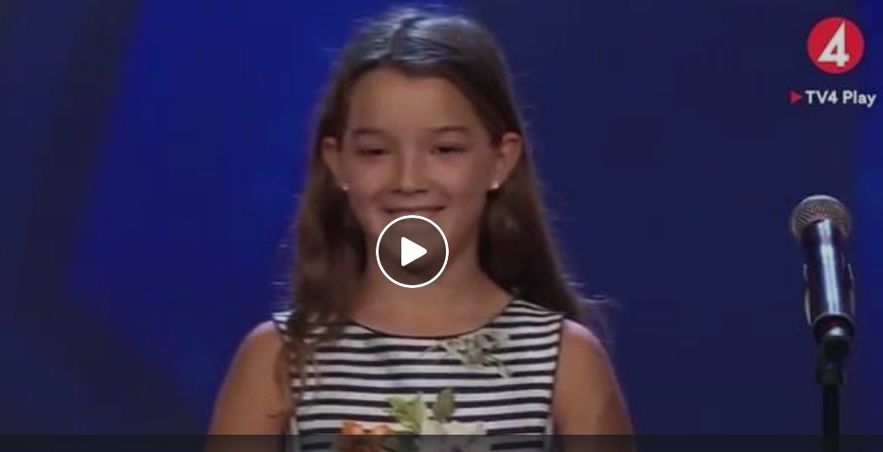 VIDEO EMOŢIONANT cu MINUNEA de 10 ani care i-a ULUIT pe suedezi! E din România şi e ÎN FINALĂ