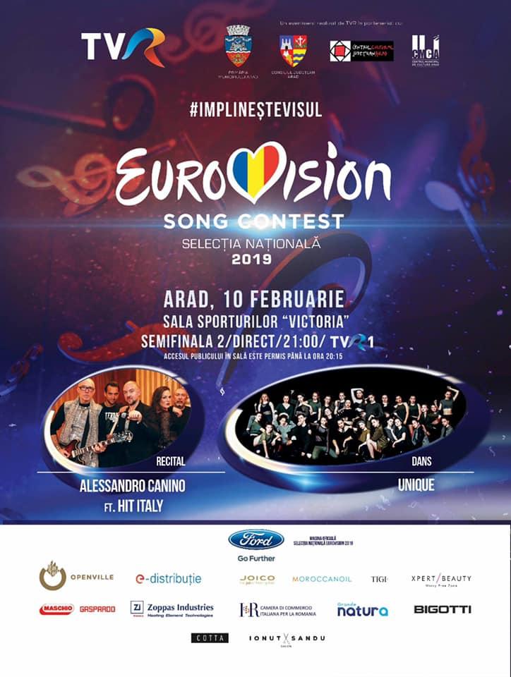 Semifinala EUROVISION, la Arad! Cine va urca pe scenă