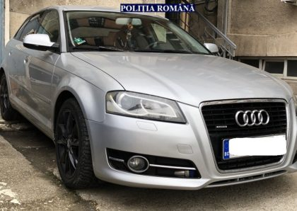 Autoturism căutat de autoritățile italiene, depistat de polițiștii arădeni
