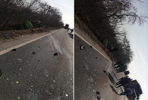 Grav ACCIDENT RUTIER pe drumul Arad – Oradea! Trei VICTIME dintre care una DECEDATĂ