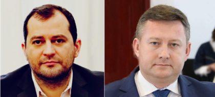 Ziua FINILOR la Consiliul Judeţean Arad! Răzvan Cadar şi Cristian Sălăşan au ajuns pe funcţii