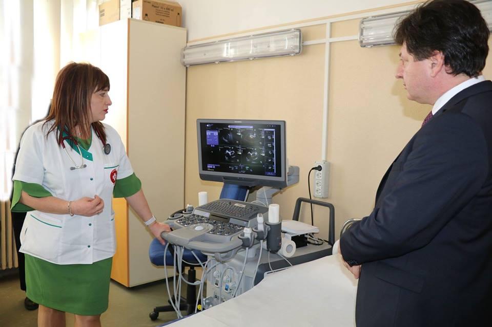 Secția de Cardiologie a Spitalului Județean Arad, dotată cu un aparat ultraperformant