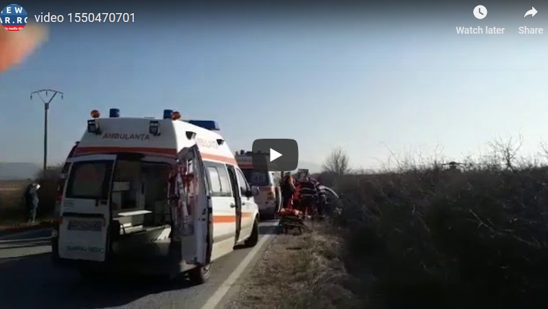 VIDEO/ Accidentul MORTAL de la Bârsa, de pe DN79 A (6 înregistrări)