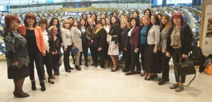 Reprezentante ale ALDE, în vizită la Parlamentul European
