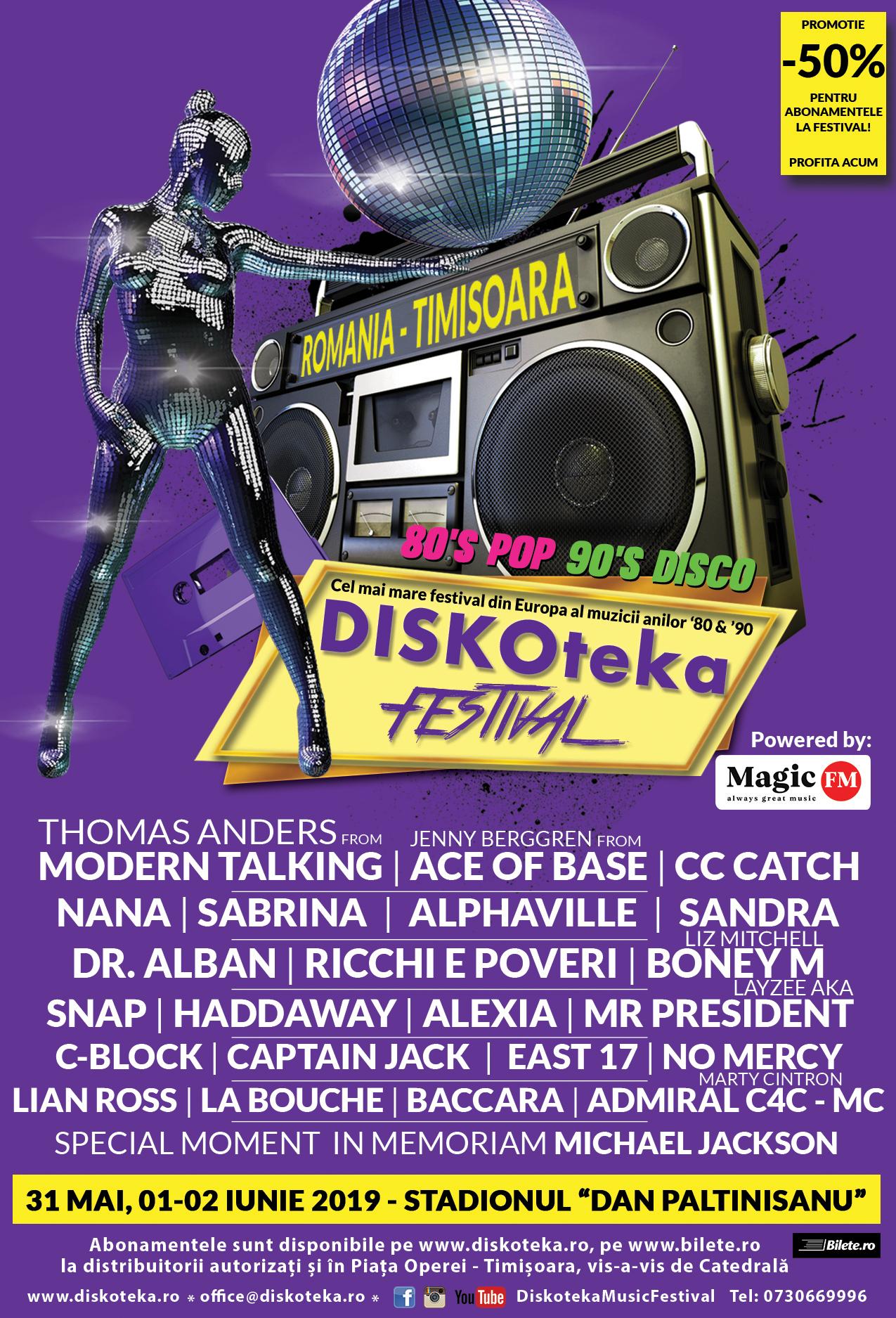Timișoara devine capitala muzicii retro în 2019