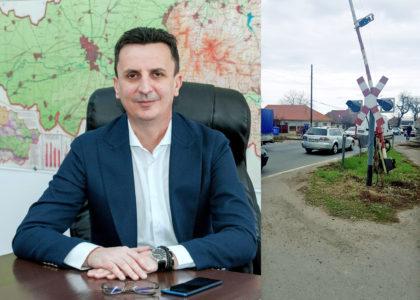 Florin Tripa (PSD) solicită intervenţia ministerului Transporturilor pentru repararea trecerilor de cale ferată de la Zimand şi Chişineu-Criş