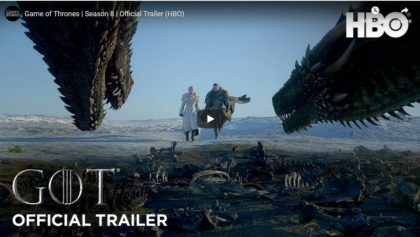 VIDEO/ A fost lansat trailerul oficial al ultimului sezon din Game of Thrones