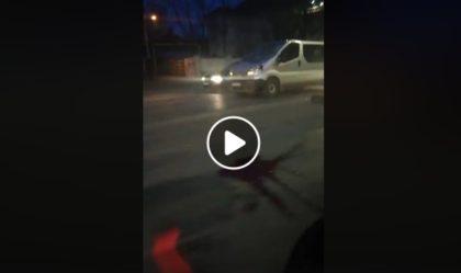 Accident GRAV în această dimineață, în Arad (FOTO + VIDEO). UPDATE: Victima a MURIT! Ce spune Poliţia