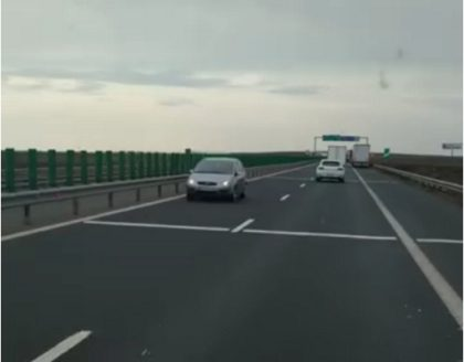 Cine e şoferiţa care a condus pe contrasens, pe autostrada A1