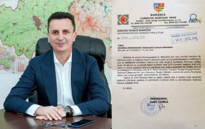 Florin Tripa ACUZĂ conducerea CJA că inventează noi piedici în calea dezvoltării stațiunii Moneasa