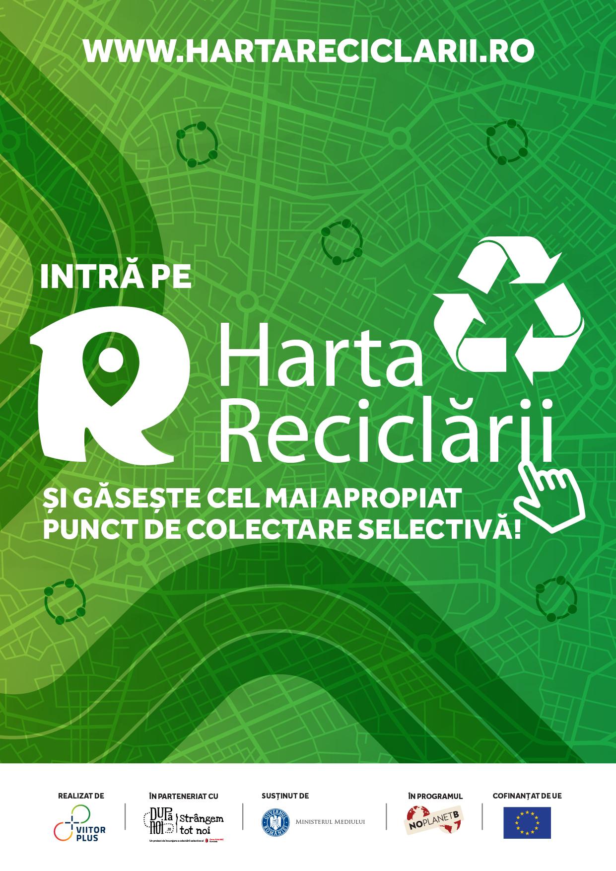 De acum, colectarea selectivă a deșeurilor și reciclarea au devenit mult mai ușoare! Ce trebuie să faci