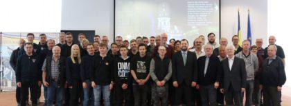 Delegaţie germană, în vizită la Consiliul Judeţean Arad