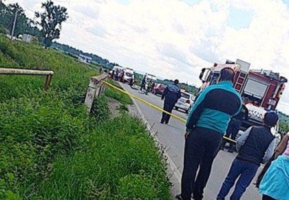 ACCIDENT MORTAL la Moara cu Noroc! Intervine elicopterul SMURD