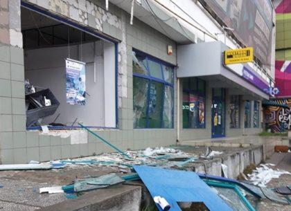 Aradul, Vestul Sălbatic al României: Un alt BANCOMAT a fost ARUNCAT ÎN AER de răufăcători, lângă Atrium Mall