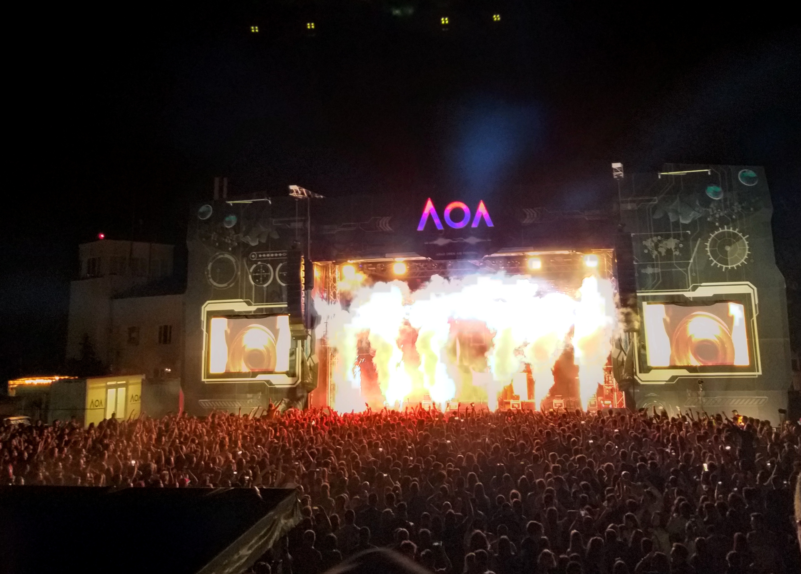 Arad Open Air a început în forță! (GALERIE FOTO)